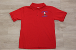 Cypress Cove Elem Red Jersey Knit Polo