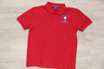Cypress Cove Elem Red 50/50 Pique Polo