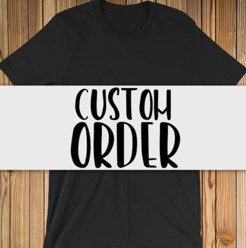 Custom Order for Adult 100%