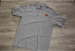 Slidell Jr High Sport Gray 50/50 Jersey Knit Polo