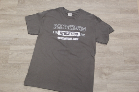 NHS Charcoal Athletics Spirit Tee