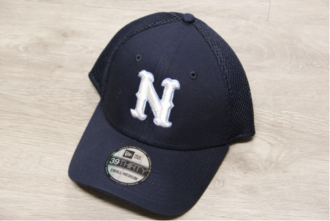 NHS Navy New Era 39 Thirty Hat Raised N