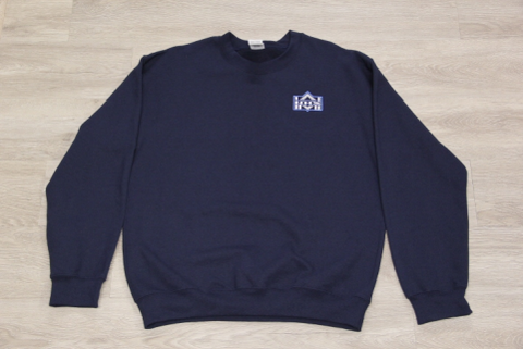 NHS Navy Embroidered Unisex Crew Neck Sweatshirt