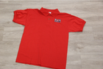 Boyet Jr. High Red 50/50 Jersey Knit Polo