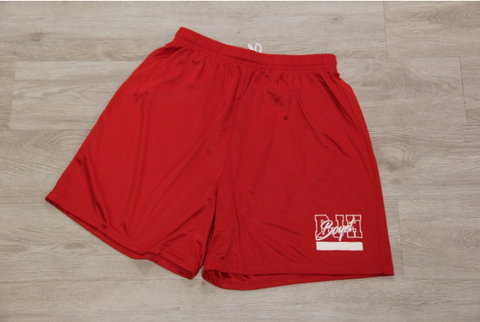 "RED MEN 7"" INSEAM SHORT"