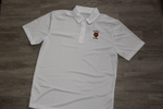 Slidell Jr High White 50/50 Jersey Knit Polo