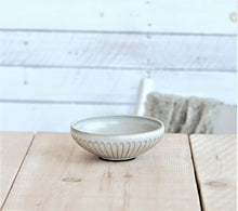 Load image into Gallery viewer, Poké bowl - small - white herringbone