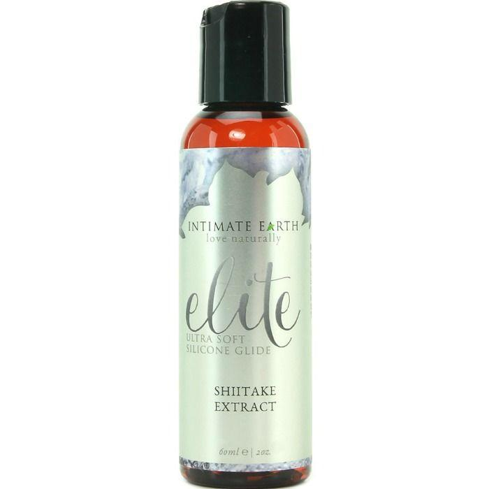 INTIMATE EARTH LUBRICANTE A BASE DE SILICONA EXTRACTO SHIITAKE 60ML - Pelvia