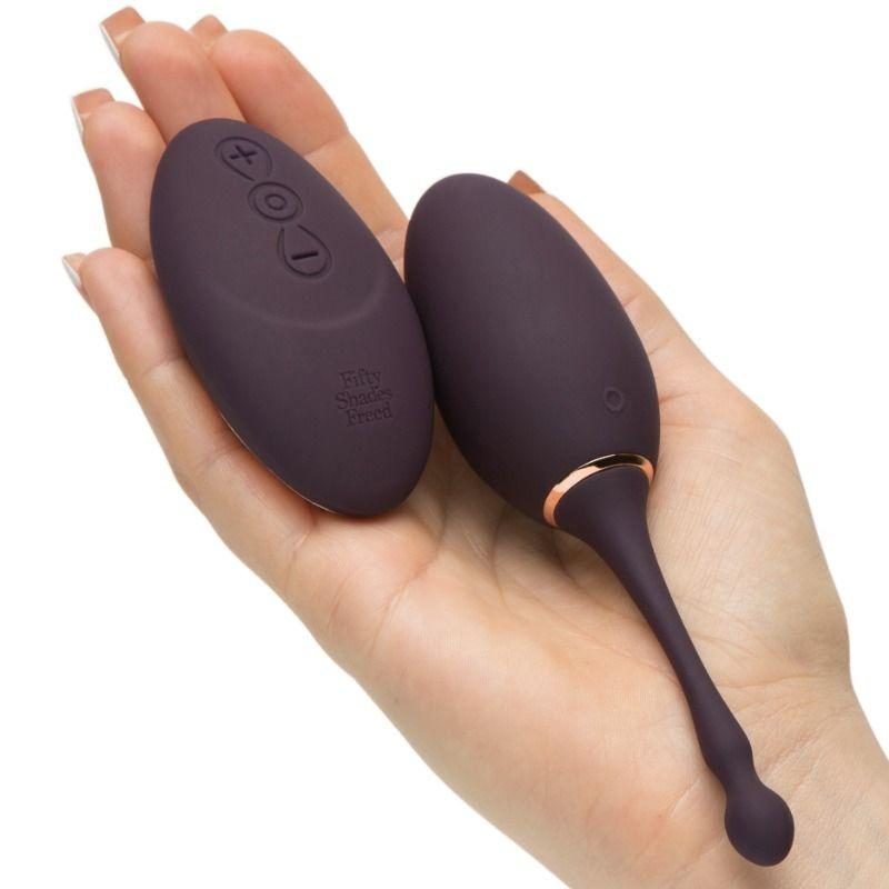 CINCUENTA SOMBRAS LIBERADAS HUEVO VIBRADOR RECARGABLE I'VE GOT YOU - Pelvia