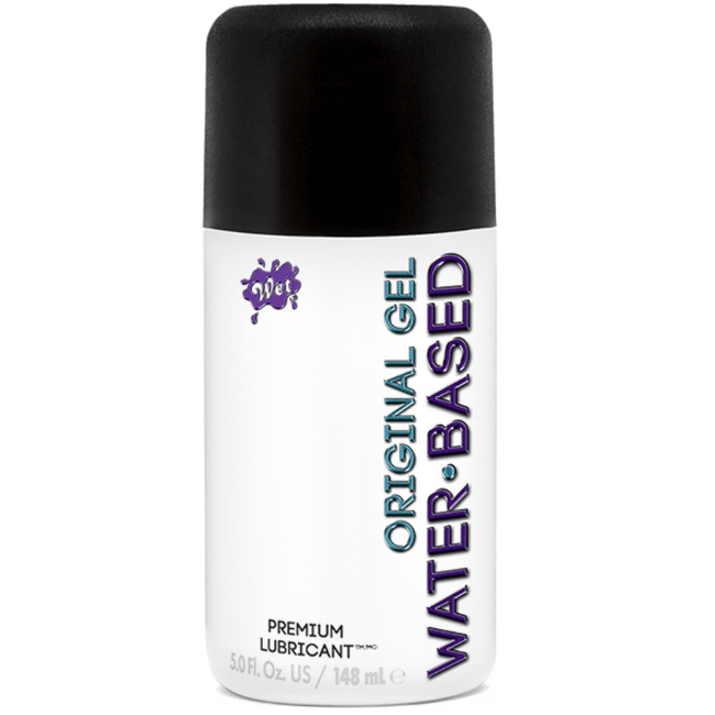 WET ORIGINAL LUBRICANTE BASE AGUA LIGERO 148 ML - Pelvia