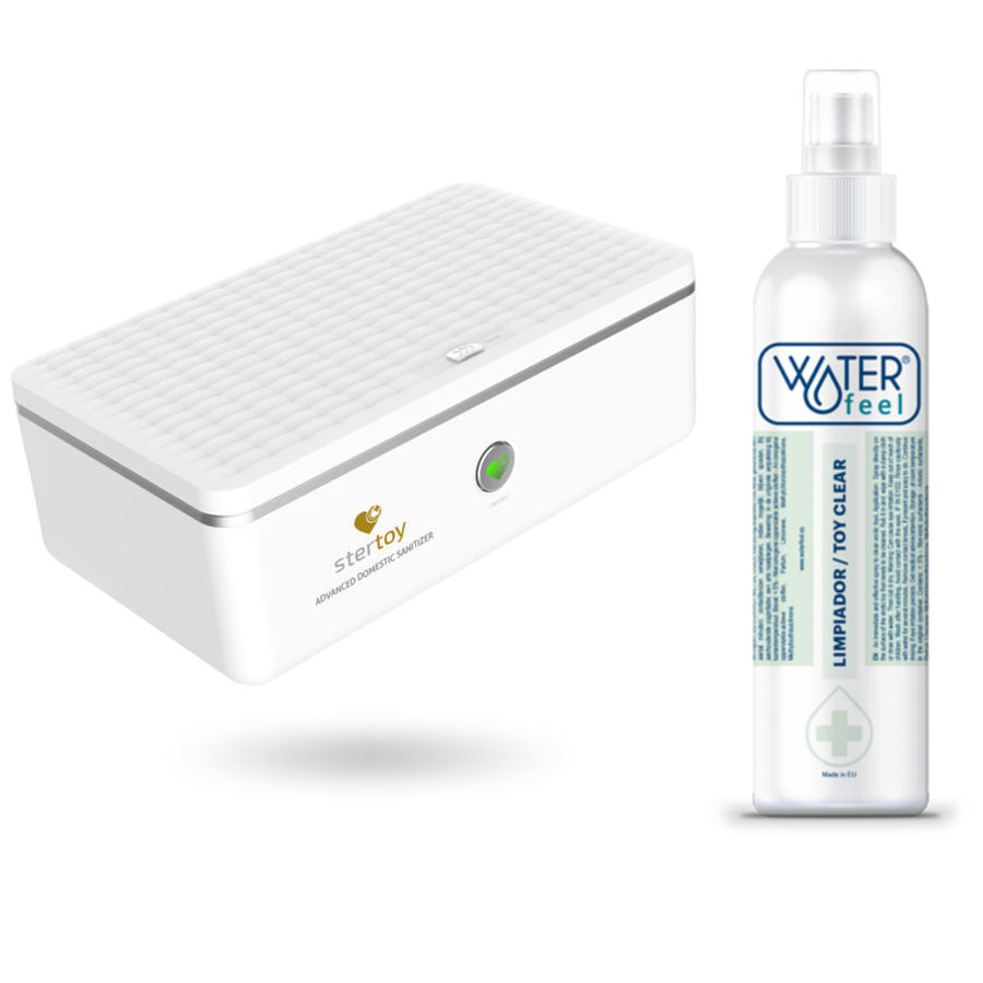 Stertoy esterilizador + Regalo Toy Cleaner Waterfeel - Pelvia