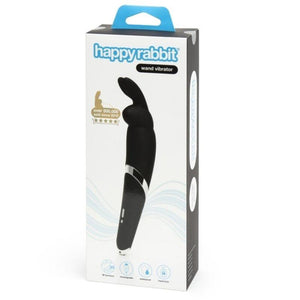 HAPPY RABBIT WAND VIBRATOR NEGRO - Pelvia