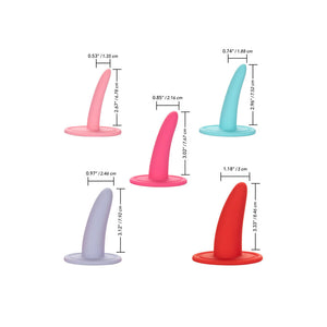 CALEX KIT 5PC DILATADORES VAGINALES MULTICOLOR