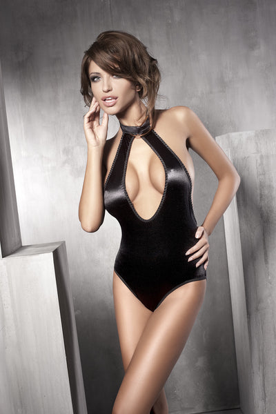 The gorgeous Inspiration Body is beautifully made from a soft flexible, black satin fabric.