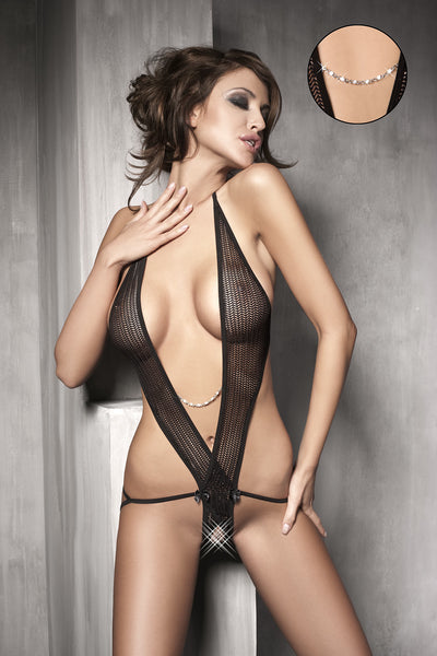 This decadently naughty teddy is the ultimate lingerie piece.