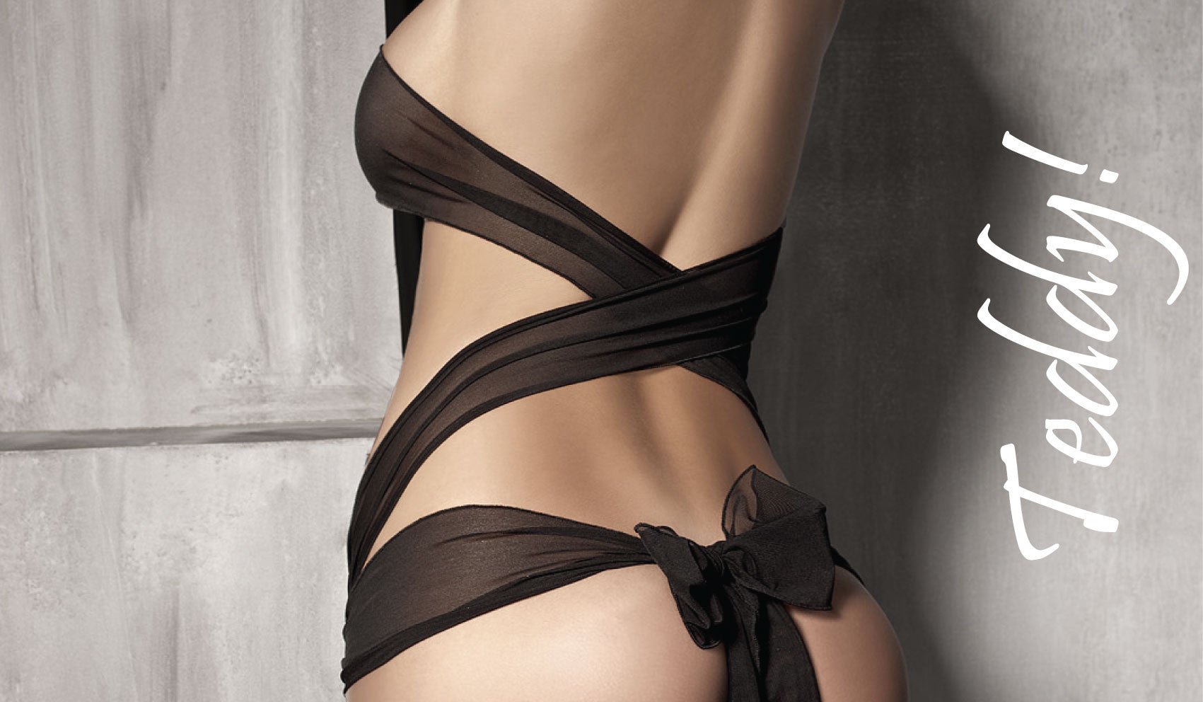Kiss Kate's Teddy collection is playful and seductive that nicely exposes your body and womanly curves.