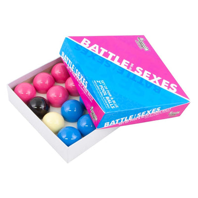 "FORMULA BATTLE OF THE SEXES POOL BALLS 2"" SPORTSPOWER BUNDABERG"