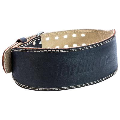 "HARBINGER 4"" PADDED LEATHER BELT SPORTSPOWER BUNDABERG"
