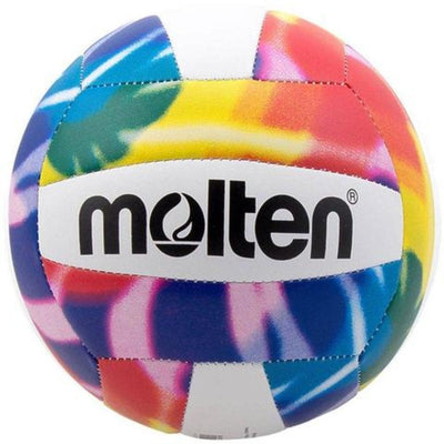 MOLTEN BEACH VOLLEYBALL TIE DYE SPORTSPOWER BUNDABERG