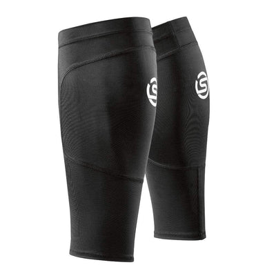 SKINS ESSENTIAL SPORT CALF TIGHT BLACK SPORTSPOWER BUNDABERG