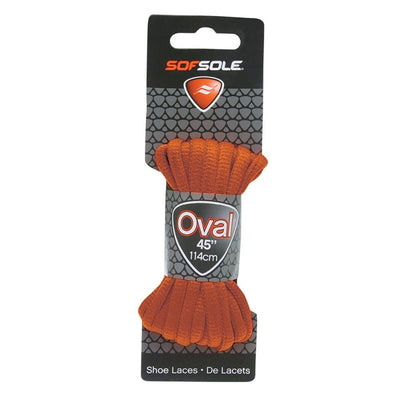 "SOF SOLE U ATHLETIC OVAL LACES 45"" BROWN SPORTSPOWER BUNDABERG"