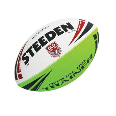 STEEDEN QRL TRAINING FOOTBALL MINI SPORTSPOWER BUNDABERG