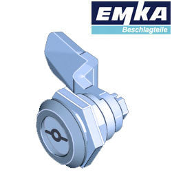 1000-U134-U137 - EMKA Stainless Steel Quarter Turn w- 5mm Double Bit and  Foam-in-Place Gasket