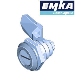 1000-U134-U630 - EMKA Stainless Steel Quarter Turn w- Slotted Insert and Foam-in-Place Gasket
