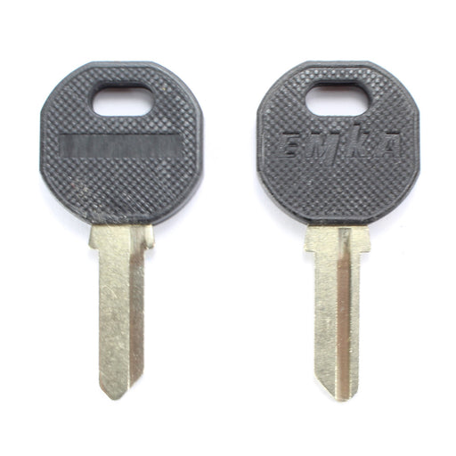1108-U35-BLANK EMKA Black Grip Key