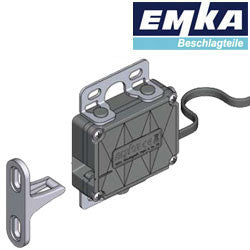 3000-U300-01 EMKA Single point latch with integrated status contact