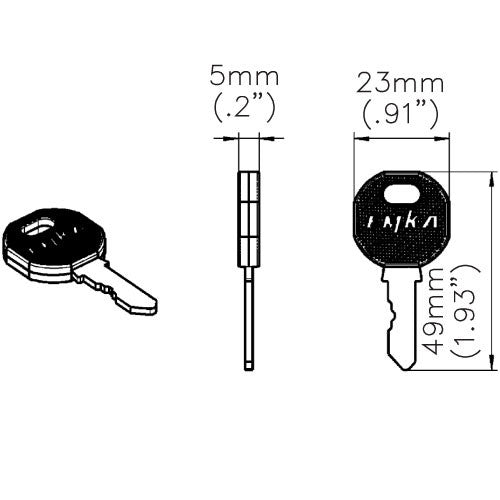 Fath FH333 Replacement Key