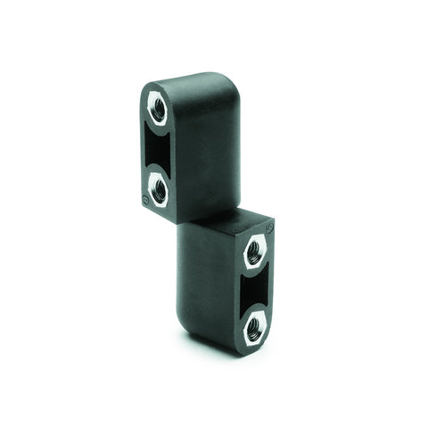 CFN.65 p-M5x12 - 426121 - Elesa In-Line Lift-Off Hinge with 2 Top Studs Threaded M5 x 12