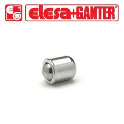 GN.32131 GN 614-8-NI Elesa Ganter Smooth Ball Spring Plunger
