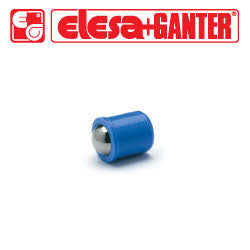 GN.32122 GN 614-6-KU Elesa Ganter Smooth Ball Spring Plunger