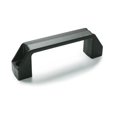 154601 - M.443/110-CH nero-ESD-C - Elesa ESD Series - Glass-Fiber Reinforced Pull Handle - Matte Black - 6mm Mounting Hole