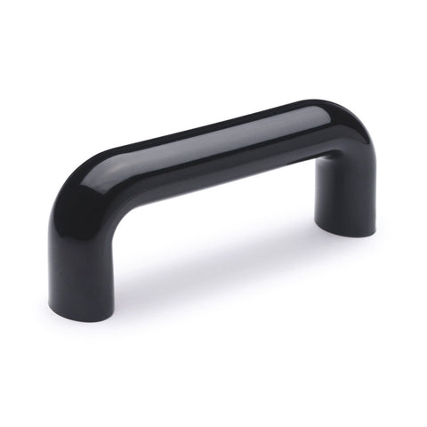 138101 - M.843/100 B-M6-C9 - Elesa Polyamide Pull Handle - Glossy Black - Threaded M6