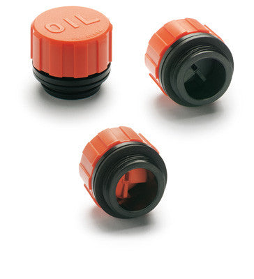 "SFP.57-1+F FIL - 56741 - 1"" Dia. Breather Cap with Orange Splash Guard and Tech Fill Filter"