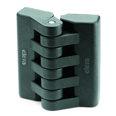 CFA.65 p-M6x18-CH-6 - 422262 - Elesa Hinge with 2 Holes for Cylindrical Head M6 Screws and 2 Studs Threaded M6x18