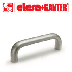 GN.27435 - GN 565.5-20-128 - Elesa Ganter Cabinet U-Handle - Stainless Steel