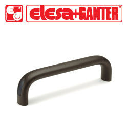 GN.27102 - GN 565-20-128-SW - Elesa Ganter Black Cabinet U-Handle