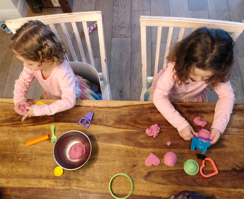 kids love natural diy play dough