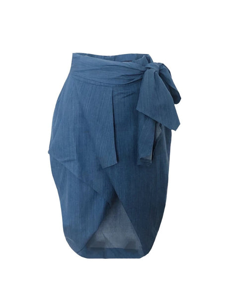 Cocoon Eco Denim Skirt