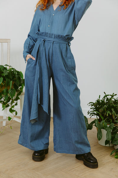 La Vida Eco Pants (Denim)