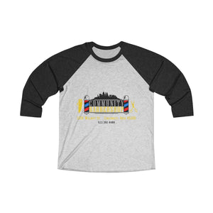 Community Barber Raglan Sleeve Tee
