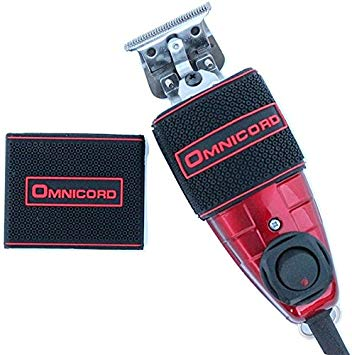 Omnicord Ruby Red Trimmer with High Precision Ceramic Blade and No Slip Clipper Grip