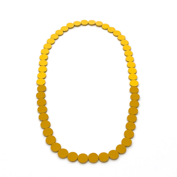Canary | Sunset Polka Dot Necklace