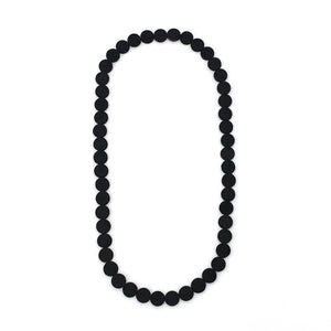 Black Polka Dot Necklace