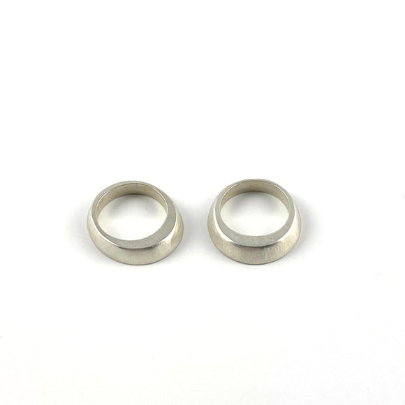 Igual Rings - Sterling Silver