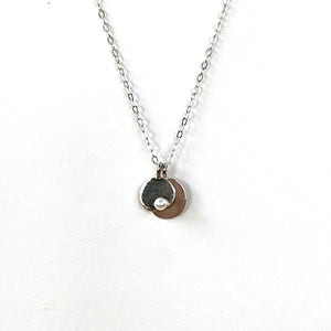 Mini Pearl Charm Necklace