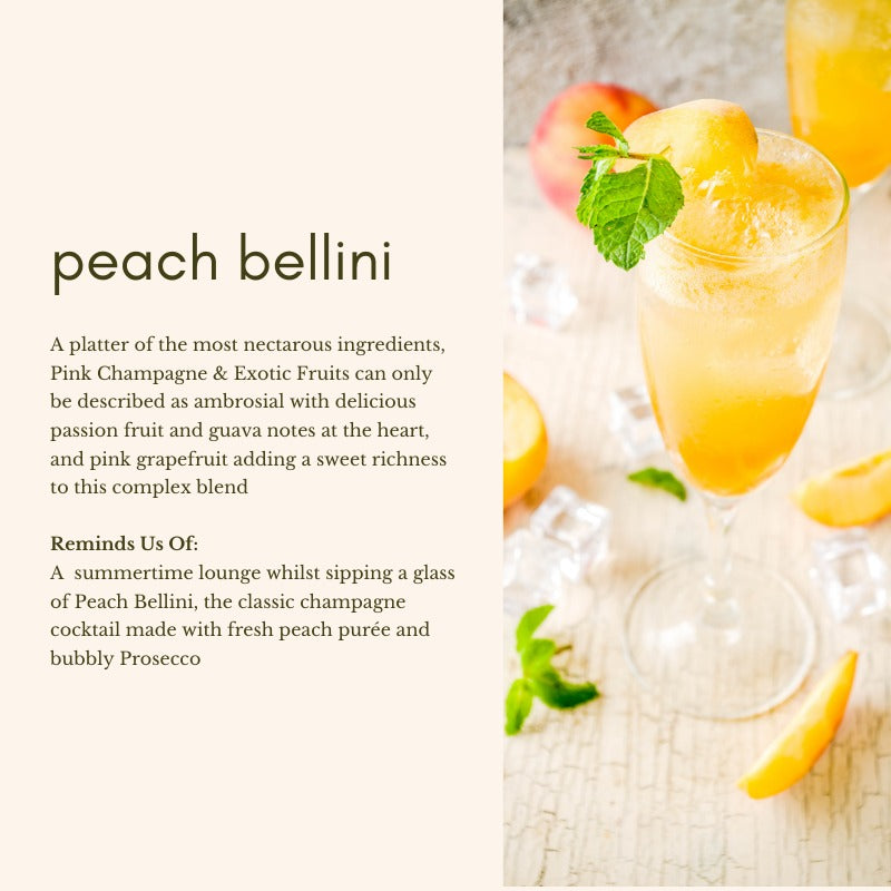 Scent Supply Co: Peach Bellini (10ml)